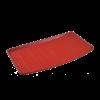 کفی کفپوش صندوق عقب 3بعدی چرم قرمز پژو 206 بابل