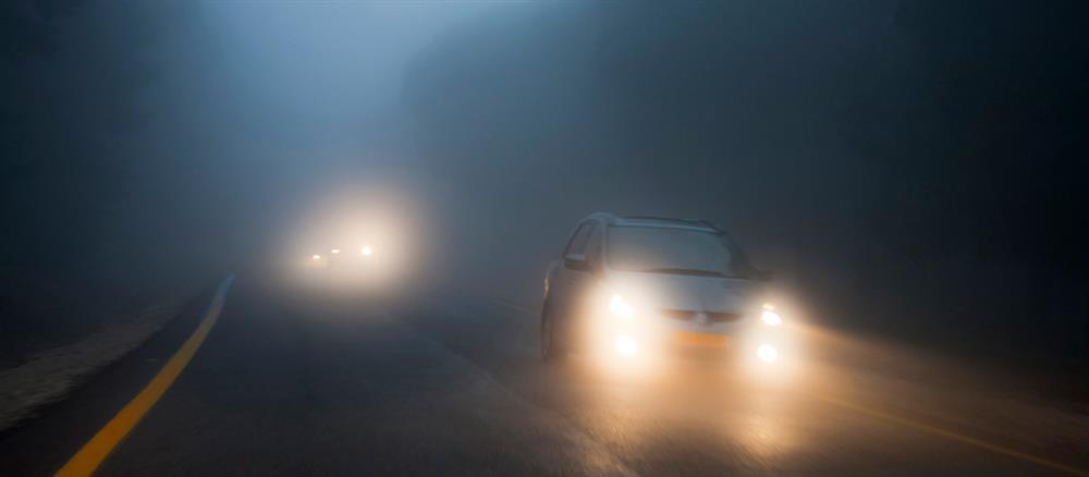 مه شکن ها در هوای مه آلود